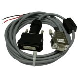 500200 RS-232 Configuration cable DLS/FLS